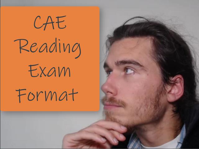 CAE Reading Exam Format
