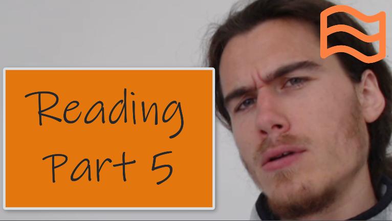 b2 first fce reading part 5