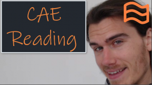 CAE Reading Course
