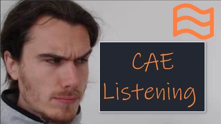 CAE Listening Test